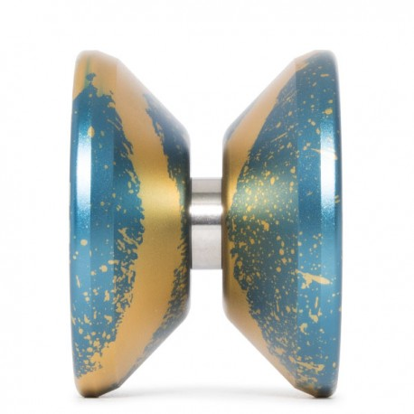 C3yoyodesign Token 2018 Blue / Gold Splash