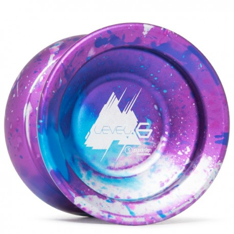 C3yoyodesign Level 6 Blue / Purple / Silver
