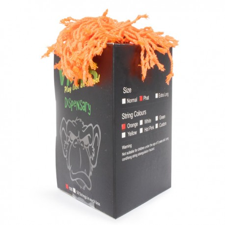 MoneyfingeR Vines String 100 Pack Phat Orange