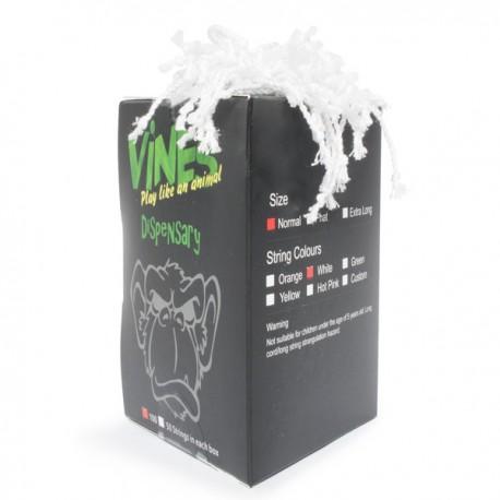 MoneyfingeR Vines String 100 Pack Normal White