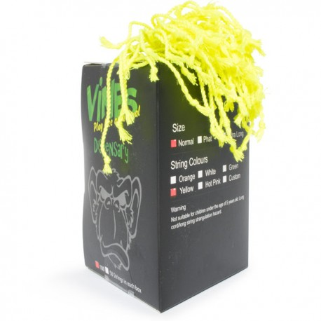 MoneyfingeR Vines String 100 Pack Normal Yellow