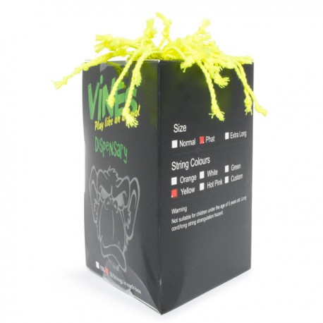MoneyfingeR Vines String 50 Pack Phat Yellow