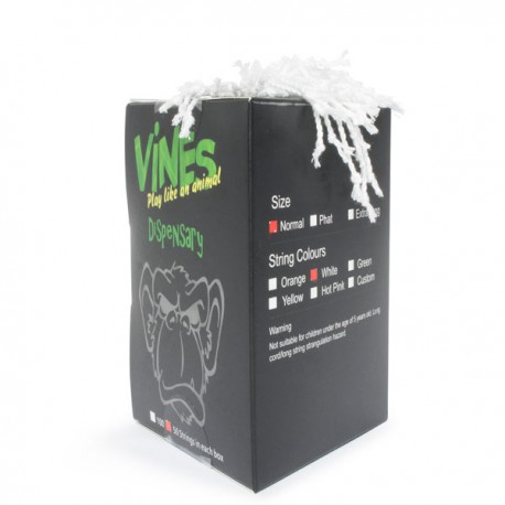 MoneyfingeR Vines String 50 Pack Normal White