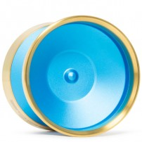 YoYoFactory Edge Beyond Aqua / Gold Rims