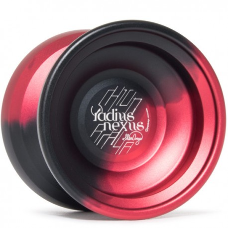 C3yoyodesign Radius Nexus Black / Red Fade
