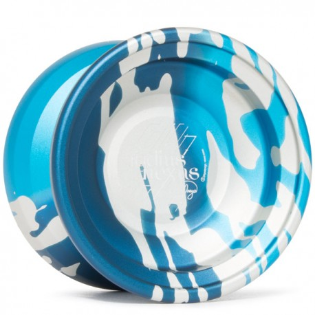 C3yoyodesign Radius Nexus Blue Fade / Silver Splash