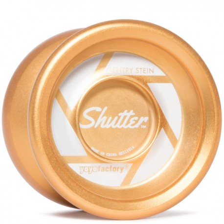 YoYoFactory Shutter Brushed Gold