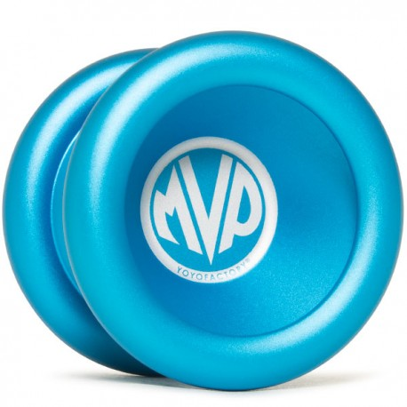 YoYoFactory MVP 3 Blue, Engraving - Large Center Logo