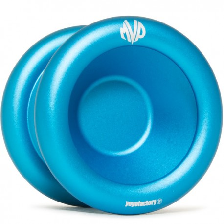 YoYoFactory MVP 3 Blue, Engraving - Simple Rim Logo
