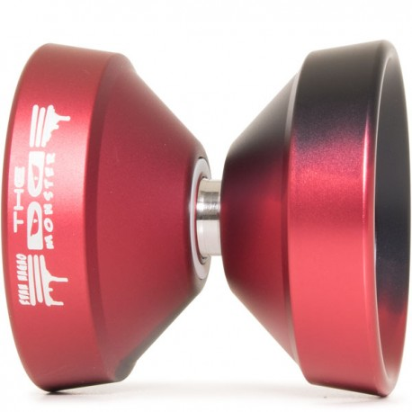 YoYoFactory Monster Edge Black / Red Fade