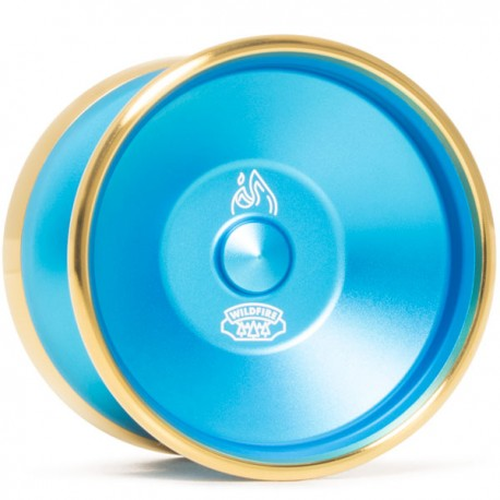 CLYW Wildfire Blue / Gold Rings