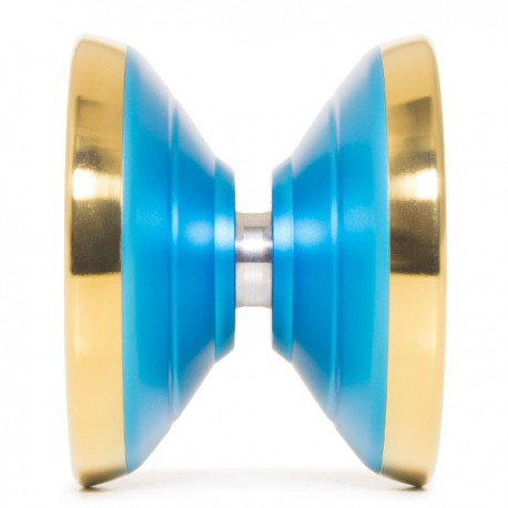 CLYW Wildfire Blue / Gold Rings SHAPE