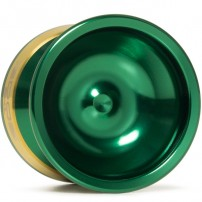 YoYoFactory EDGE Green / Gold Rings