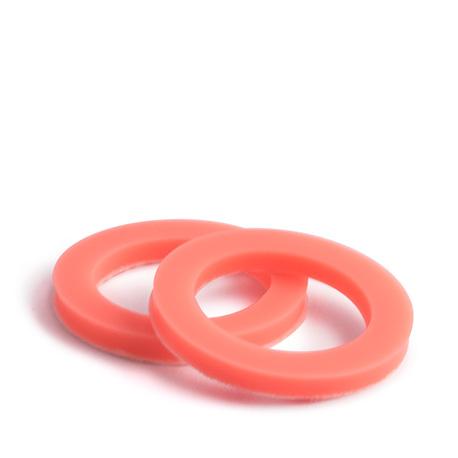 CLYW Snow Tires Pinkish Orange Neon