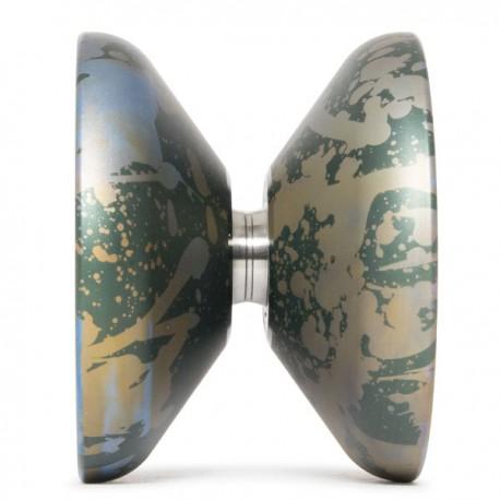 C3yoyodesign Omnitron Green / Blue / Brown Splash SHAPE