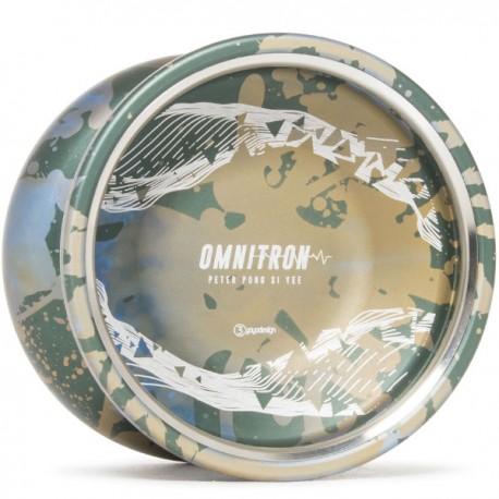 C3yoyodesign Omnitron Green / Blue / Brown Splash