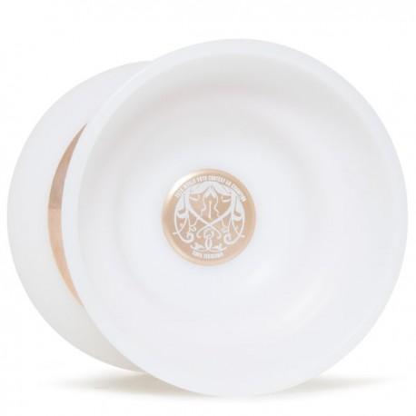 C3yoyodesign IX White / Rose Gold Rings