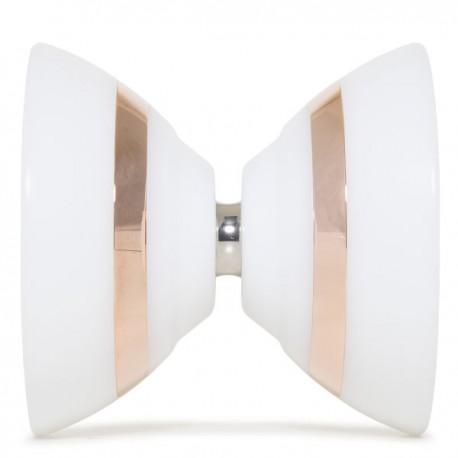C3yoyodesign IX White / Rose Gold Rings SHAPE