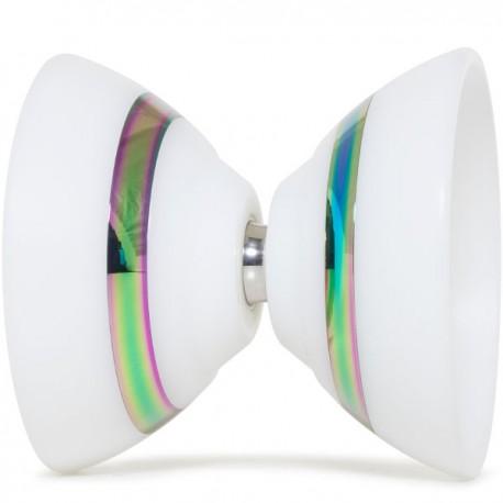C3yoyodesign IX White / Rainbow Rings