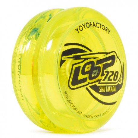 YoYoFactory Loop 720 Translucent Yellow