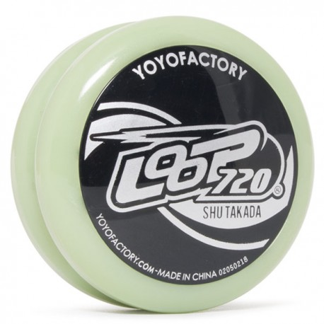 YoYoFactory Loop 720 Glow body / Black cap