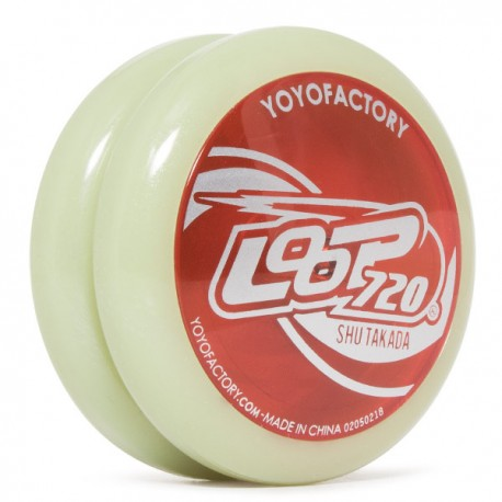 YoYoFactory Loop 720 Glow body / Red cap