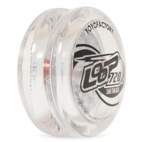YoYoFactory Loop 720 Clear w/ Glitter