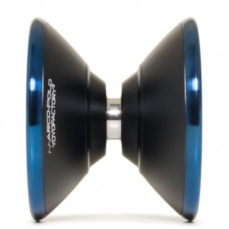 YoYoFactory Marco Black/ Blue Rings SHAPE
