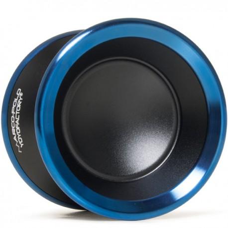 YoYoFactory Marco Black/ Blue Rings