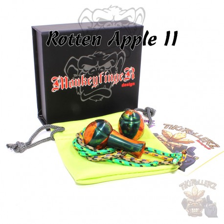 MoneyfingeR TikiRollerz Ape Grapes Rotten Apple