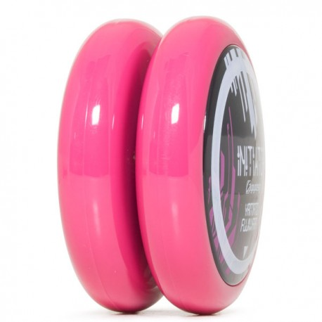 C3yoyodesign Initiator Player Ed. Solid Magenta body / Solid Black cap