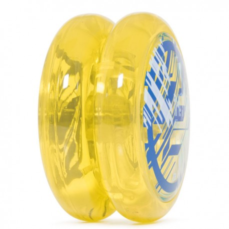C3yoyodesign Initiator Clear Yellow body / Clear Blue cap