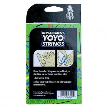 YoYoFactory 10 cuerdas. (Verde 100% Poliéster)