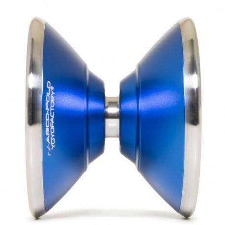 YoYoFactory Marco Blue /Silver Rings SHAPE