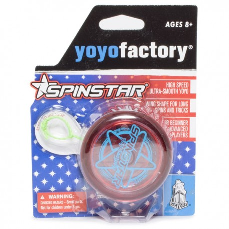 YoYoFactory SpinStar Translucent Red