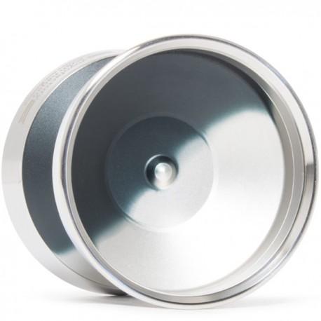 YoYoFactory Edge Beyond lack/Silver Fade / Silver Rings