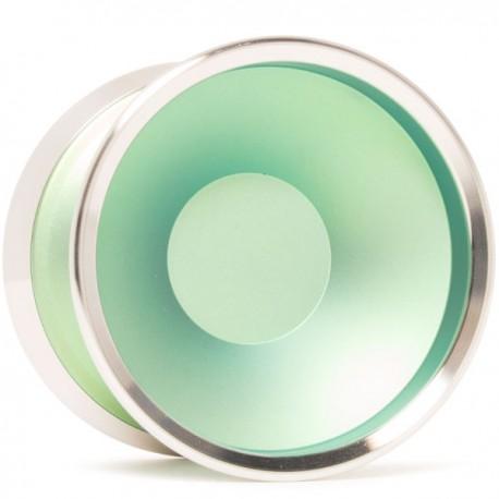 Luftverk Ultima Anodized Green / Raw Rings Bi-Metal