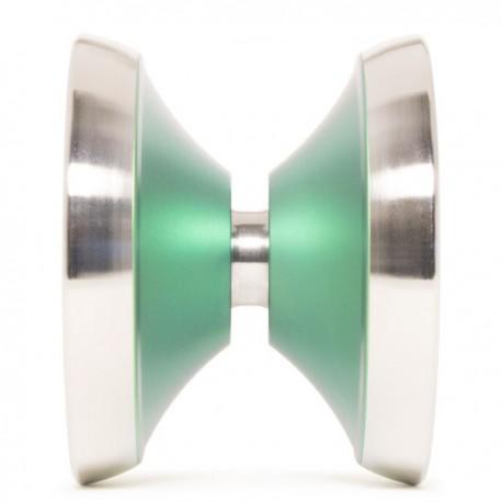Luftverk Ultima Anodized Green / Raw Rings Bi-Metal SHAPE