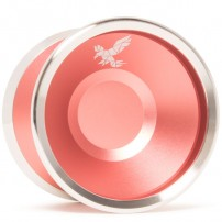 Yoyofriends Peregrine Flamingo Pink w/Raw SS Rings