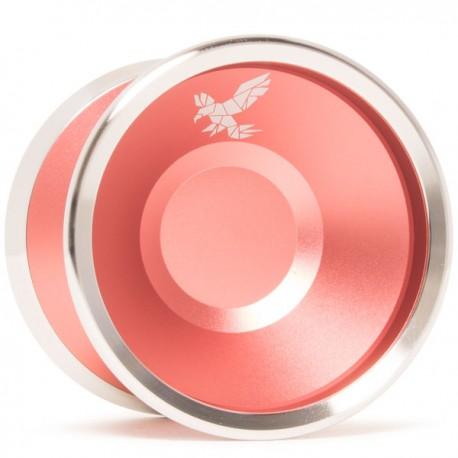 Yoyofriends Peregrine Flamingo Pink w/Raw SS Rings