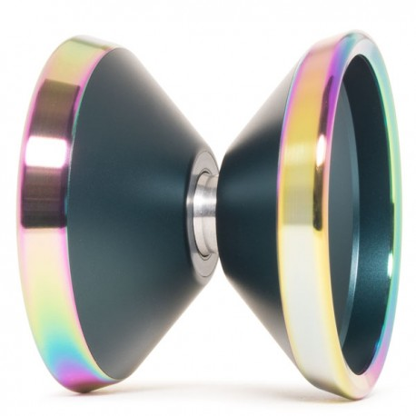 Yoyofriends Peregrine Emerald Green w/Iridescent Rings