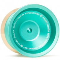 YoYoFactory Edge Ultimatum Green w/ Gold polished Rims (Kasuga Edition)