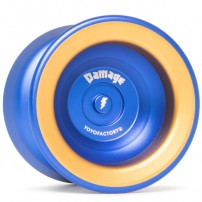 YoYoFactory Damage Blue / Gold Rings