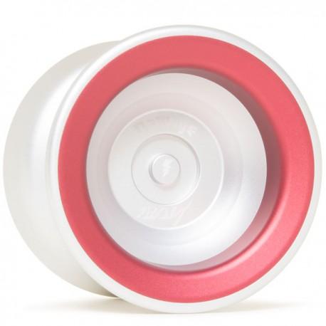 YoYoFactory Damage Silver / Red Rings