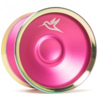 Yoyofriends Hummingbird Pink / Rainbow Rims