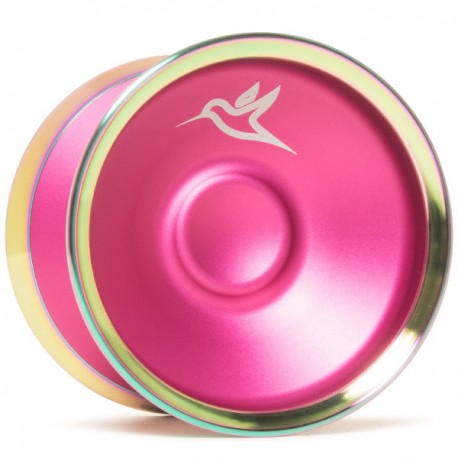 Yoyofriends Hummingbird Pink / Rainbow Rims