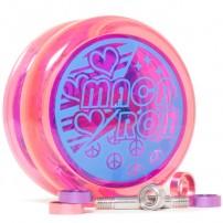 Top Yo Macaron Clear Pink / Purple Cup