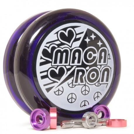 Top Yo Macaron Clear Purple / Black Cup