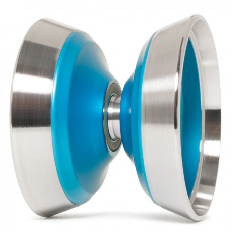 YoYoFactory WiLL Blue /Silver Rings