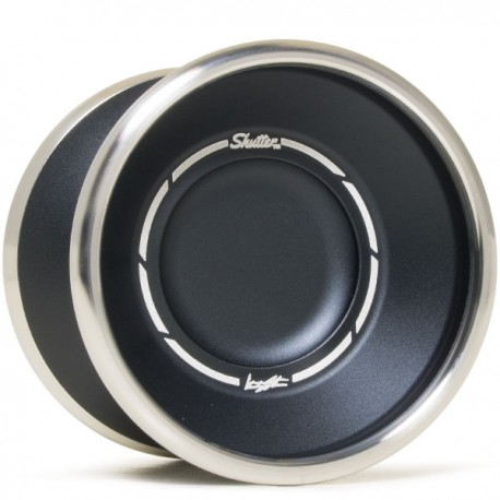 YoYoFactory Bi-Metal Shutter Black
